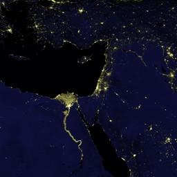 Blue Marble Navigator Night Lights