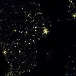blue marble navigator night lights 2012