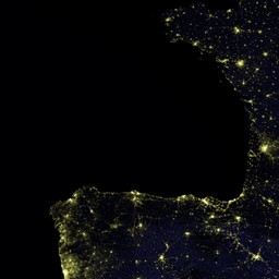 Lichtverschmutzung Karte 2019.Blue Marble Navigator Night Lights 2017